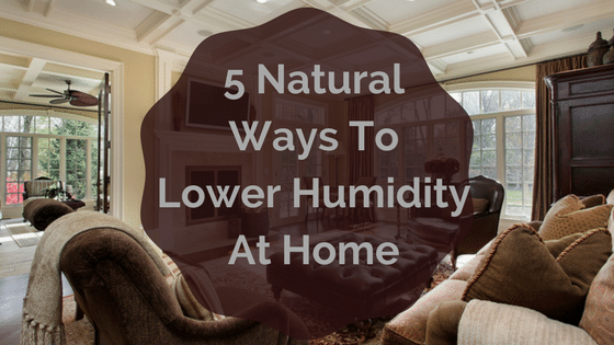 lower humidity in home