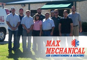 Max Mechanical Air Conditioning and Heating Staff